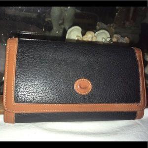 Dooney & Bourke Bags - Vintage Dooney & Bourke Leather Organizer Wallet